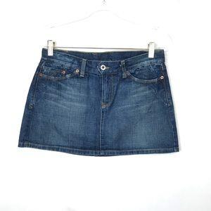 Lucky Brand Jezebel Denim Mini Jean Skirt 6/28